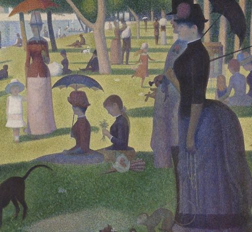 A-Sunday-Afternoon-on-the-Island-of-La-Grande-Jatte-(1886)