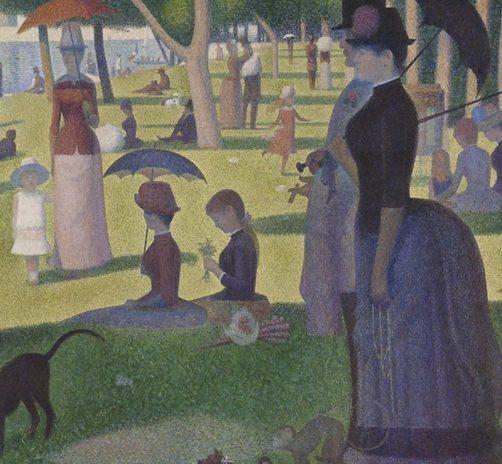 A-Sunday-Afternoon-on-the-Island-of-La-Grande-Jatte-(1886)
