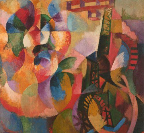 Sun,-Tower,-Airplane-(1913)